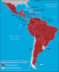 south america map bolivia south central america caribbean travel vaccines and malaria