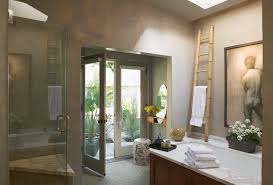 Asian Roof Design Bathroom Eclectic With French Doors Bamboo Towel