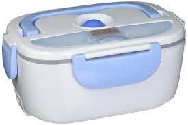 amazon com ebh 01 electric heating lunch box light blue heated