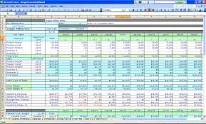 Excel Spreadsheet Household Budget Excel Spreadsheet For Budget Household Wolfskinmall