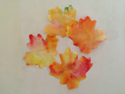 diy coffee filter fall leaf banner pickle planet moncton