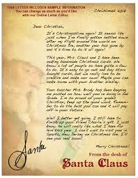 santa claus letters letters from santa