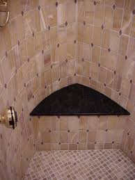 Corner Shower Bench Dimensions Awesome Design Ideas For Walk In Showers Without Doors
