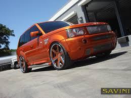 chrome range rover sport range rover sport savini wheels
