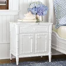 hampstead nightstand marble top williams sonoma