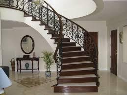 beautiful iron stair railings modern iron stair railing