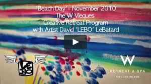 lebo the w retreat u0026 spa vieques island v 2 on vimeo