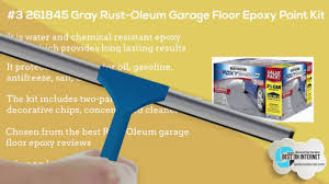 Garage Floor Paint Reviews Uk by Best Garage Floor Epoxy Paint Coating Youtube