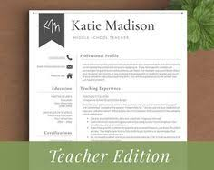Teacher Resume Sample by Get Your Dream Job With This Resume Template And Cover Letter