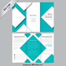 technical brochure template brochure template with squares vector free