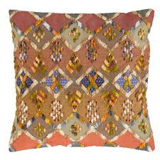 pine cone hill kenya embroidered pillow ships free