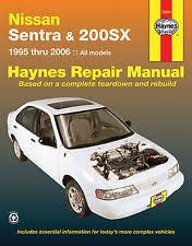 nissan sentra repair manual ebay