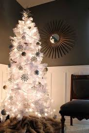 white christmas tree with colored lights 7ft white christmas trees led halloween holidays wizard
