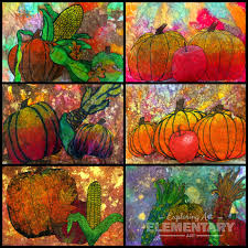 rounding out autumn lessons exploring art elementary art