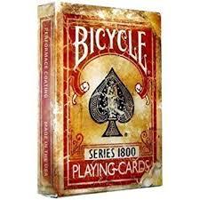 vintage cards bicycle 1800 vintage series cards by