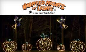 up to 52 haunted driving tour lake lanier islands resort s
