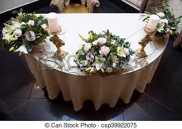 bougeoir mariage image de doré fleur trois bougeoir décoration candle