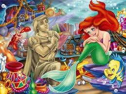 image ariel mermaid 2 jpg disney wiki fandom