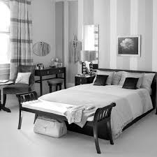 Black And White Bedroom With Brown Furniture Home Decor Black And White Room Themes With Brown Furniture Photo
