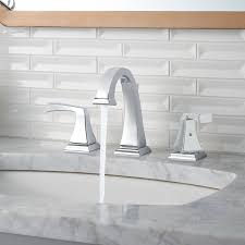 bathroom contemporary widespread faucet for modern bathroom ideas