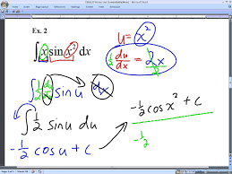 ib calculus integration by substitution 3 31 15 youtube
