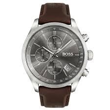 hugo boss grand prix chronograph watch 1513476 rox