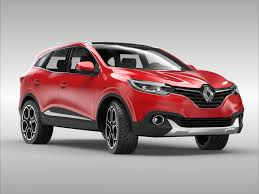 renault kadjar renault kadjar 2016 3d model vehicles 3d models compact 3ds max