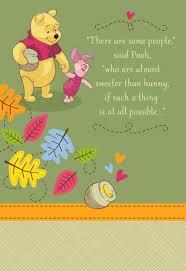 winnie pooh sweet hunny grandparents card greeting