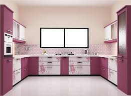 modern u shaped kitchen designs kitchen design white and purple u shaped kitchen design with floral