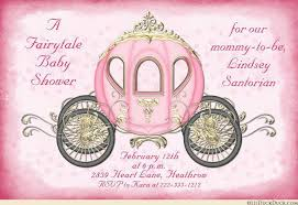 princess baby shower fairytale coach baby shower invitation princess royal