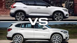 bmw x1 vs audi q3 2018 volvo xc40 vs 2017 bmw x1 youtube