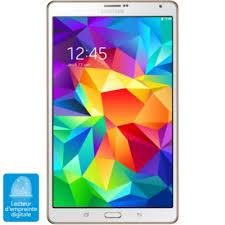 boulanger ordinateur de bureau tablette android samsung galaxy tab s 8 16go white tablette