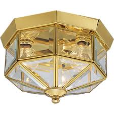 Lighting Fictures by Progress Lighting P5788 20 Octagonal Close To Ceiling Fixture With