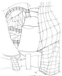architecture sketch u2013 guggenheim museum bilbao spain frank