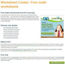 why math worksheets play an essential part in learning math