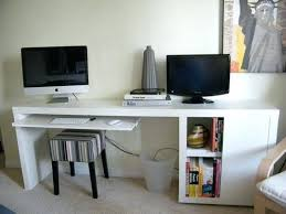 Narrow Computer Desks For Home Computer Desk Black Computer Desk Large Size Of