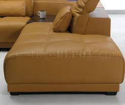 Camel Leather Sofa by Camel Leather Modern Sectional Sofa 697