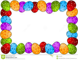 polka dots easter egg frame royalty free stock photos image
