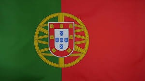Portugal Flag Hd Slowmotion Real Textile Flag Of Portugal Stock Video Footage