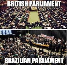 Meme Brazil - difference between parliaments imgflip