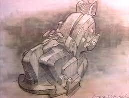 image alien chair sketch jpg x files wiki fandom powered by
