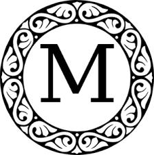 Monogram Letter B Monogram Letters Free
