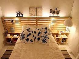 chambre palette 34 idées de lit en palette bois a faire pour la chambre