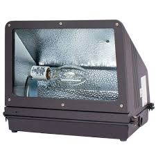 lithonia lighting metal halide small bronze off wall pack with