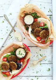 amazing simple vegan falafel with 10 ingredients and no frying