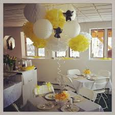 yellow and grey baby shower decorations interior design elephant themed baby shower decorations home