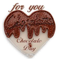 day chocolate for you chocolate on chocolate day glitter
