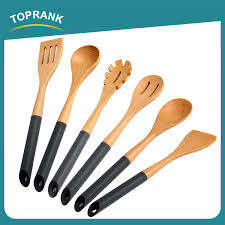 ensemble de cuisine en bois toprank alibaba gold supplier spatula spoon turner cooking utensils