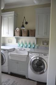 Laundry Room Cabinet With Sink Less Pricey Sink Disguised Build A Cabinet Box Around Utility For
