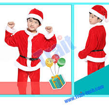 santa claus suit santa claus suit and dress boy and girl sleeve christmas